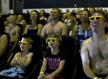 4-D Dive-In Theater