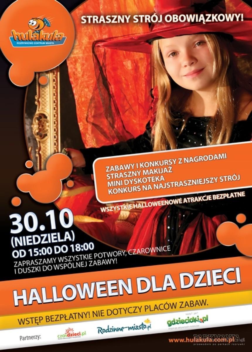 Bal Halloween dla dzieci w Hulakula