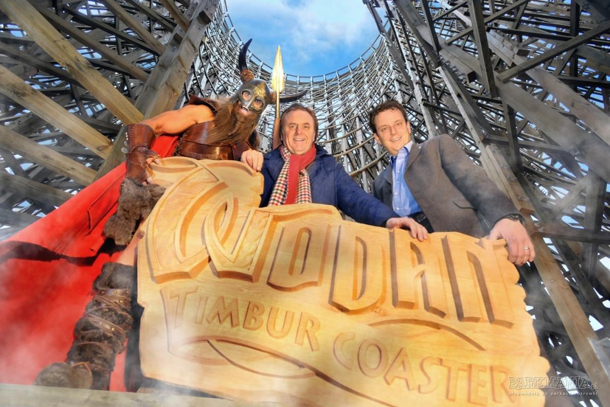 Wodan - nowy rollercoaster w niemieckim Europa-Parku już w tym roku