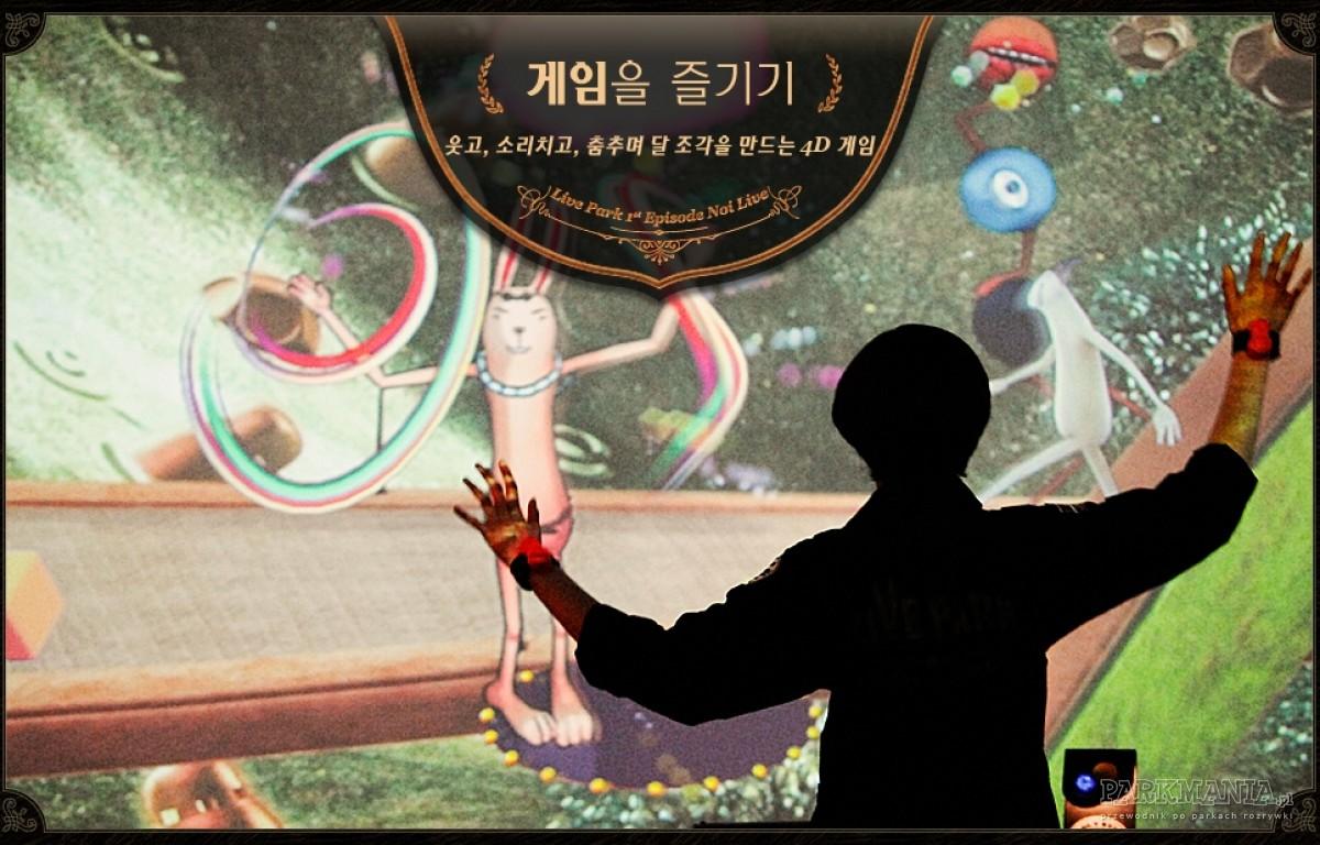 Otwarto pierwszy park wykorzystujący zaawansowaną technologię Kinect