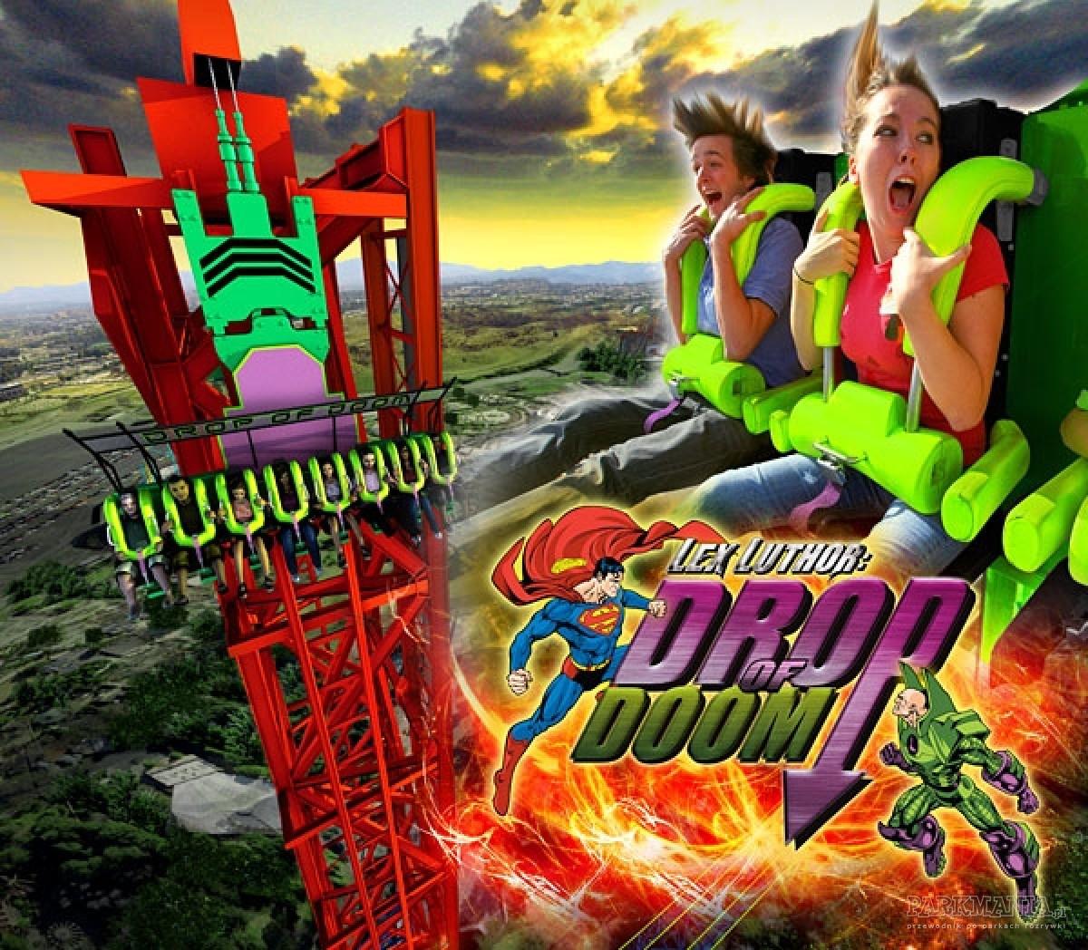 Lex Luthor: Drop of Doom, czyli najwyższy drop tower świata