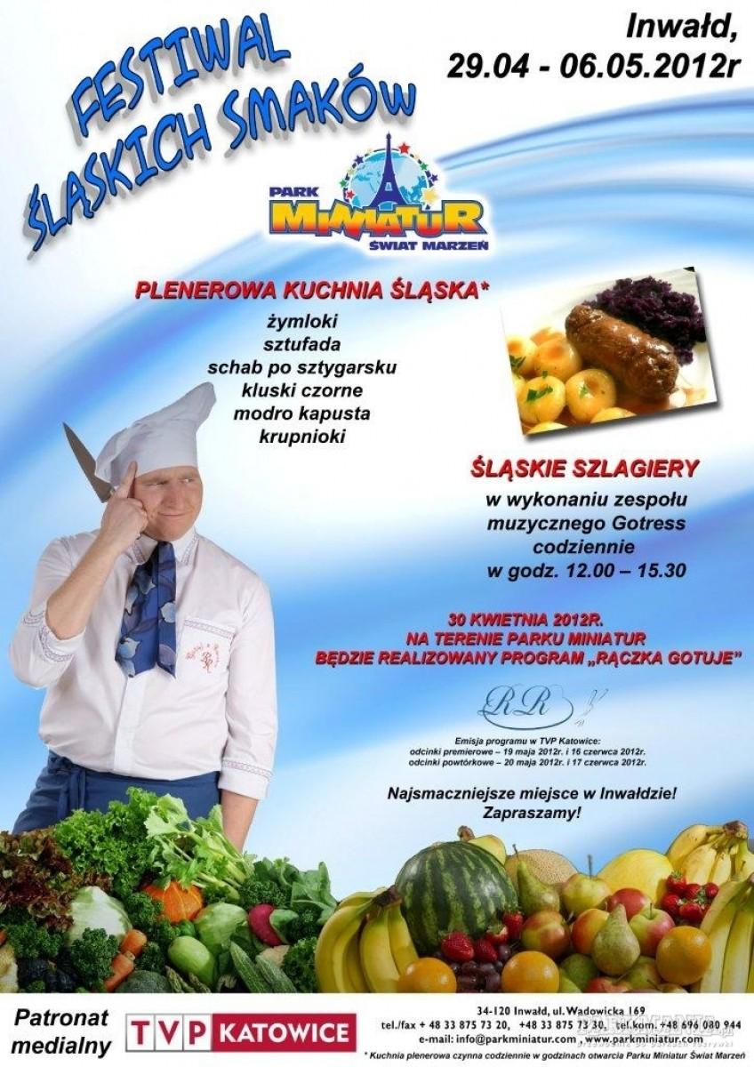 Festiwal Kulinarny Śląskich Smaków w Parku Miniatur w Inwałdzie