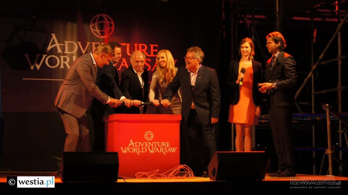 W sobotę oficjalnie rozpoczęto budowę Adventure World Warsaw