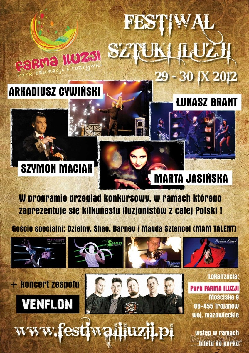 Odbędzie się pierwszy w Polsce Festiwal Sztuki Iluzji