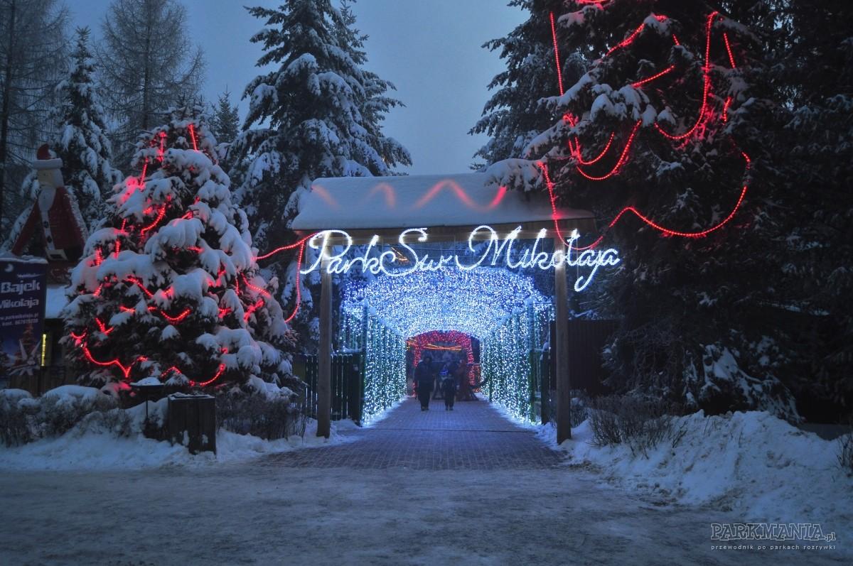 Świąteczna wycieczka do domu Mikołaja