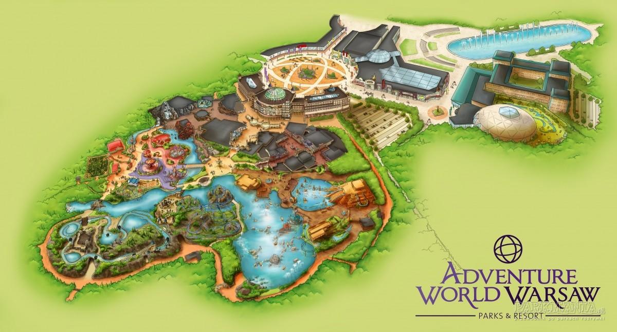 Adventure World Warsaw otrzymało pozwolenie na budowę parku rozrywki