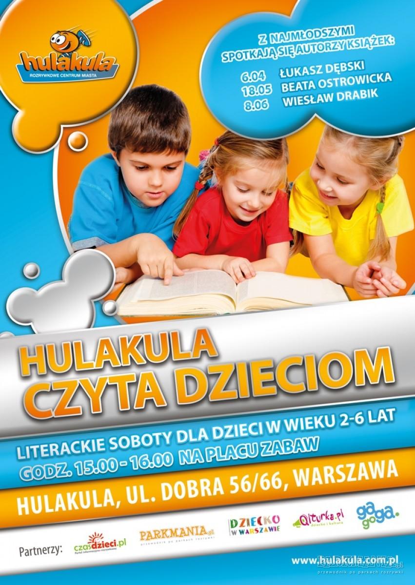 Hulakula czyta dzieciom - cykl spotkań literackich dla najmłodszych
