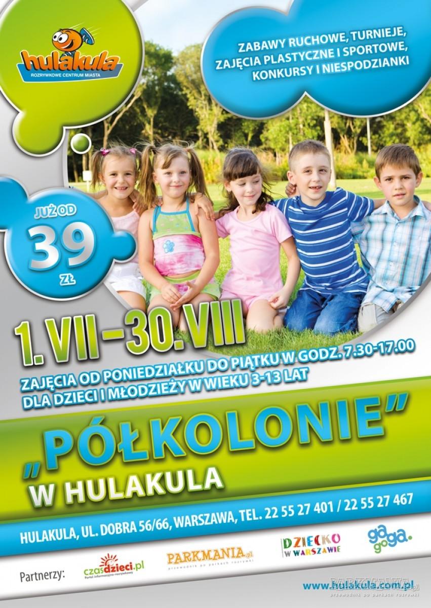 Letnie półkolonie w warszawskim Hulakula