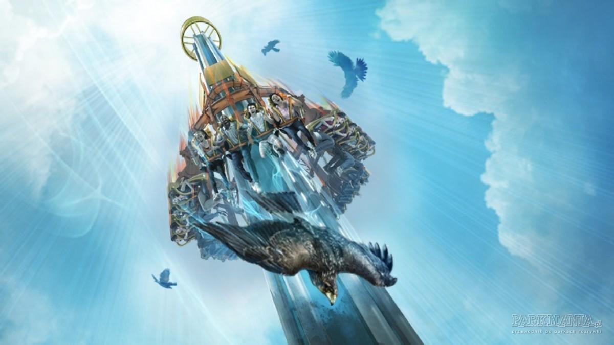 Busch Gardens z nową krainą tematyczną i gigantyczną wieżą swobodnego spadania