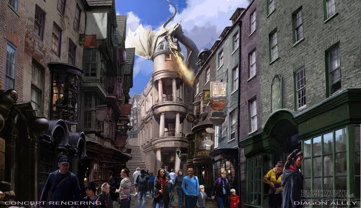 Tego lata kraina Harrego Pottera w Universalu na Florydzie wzbogaci się o nowe atrakcje