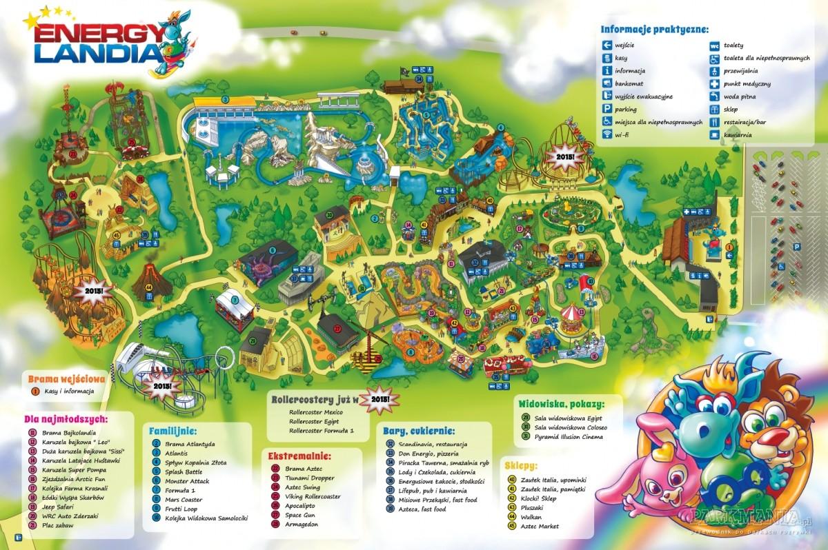 [WIDEO] Energylandia - pierwszy polski tematyczny park rozrywki
