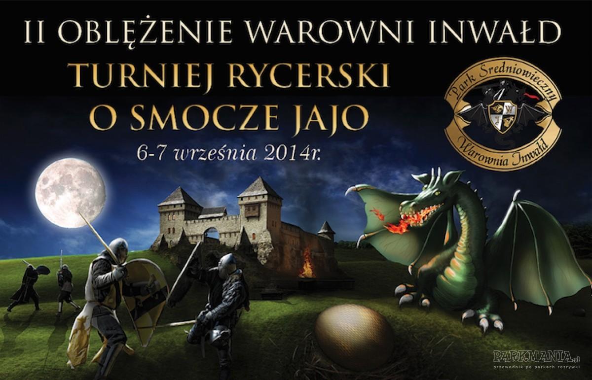 W pierwszy weekend września odbędzie się II Oblężenie Warowni Inwałd