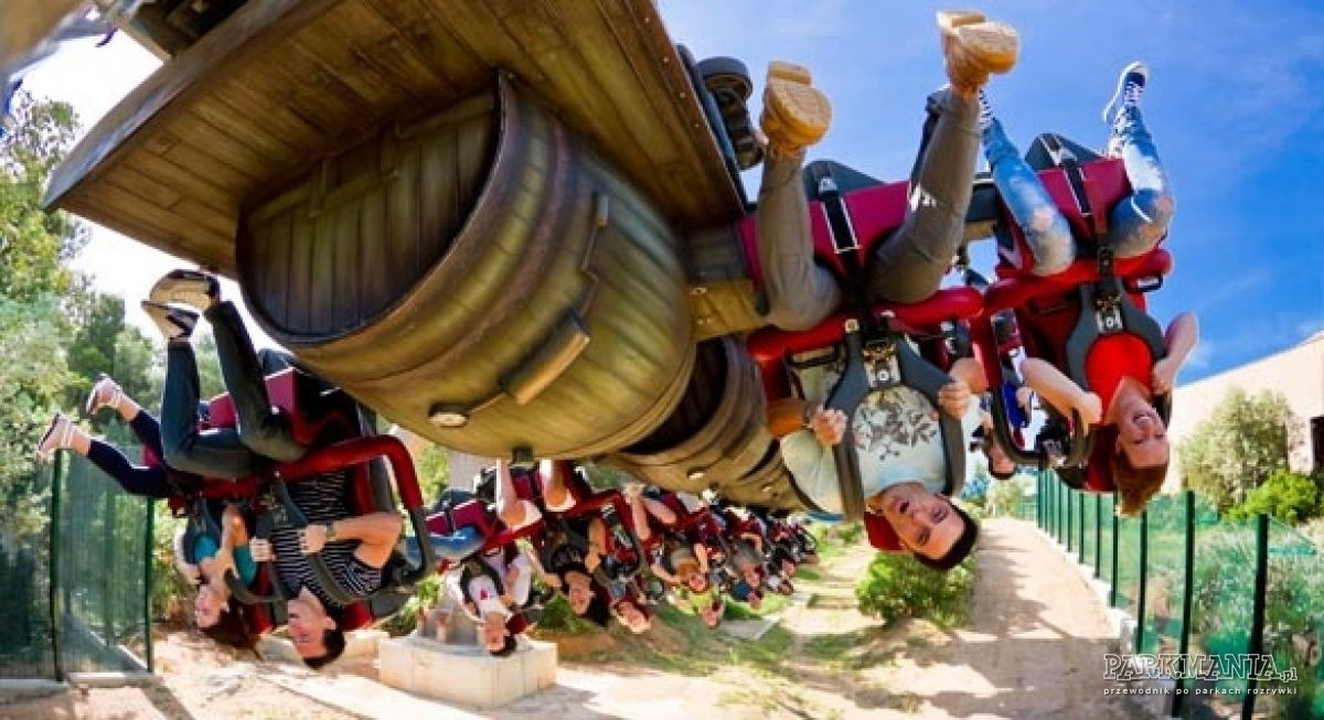TOP 13: najszybsze roller coastery Europy