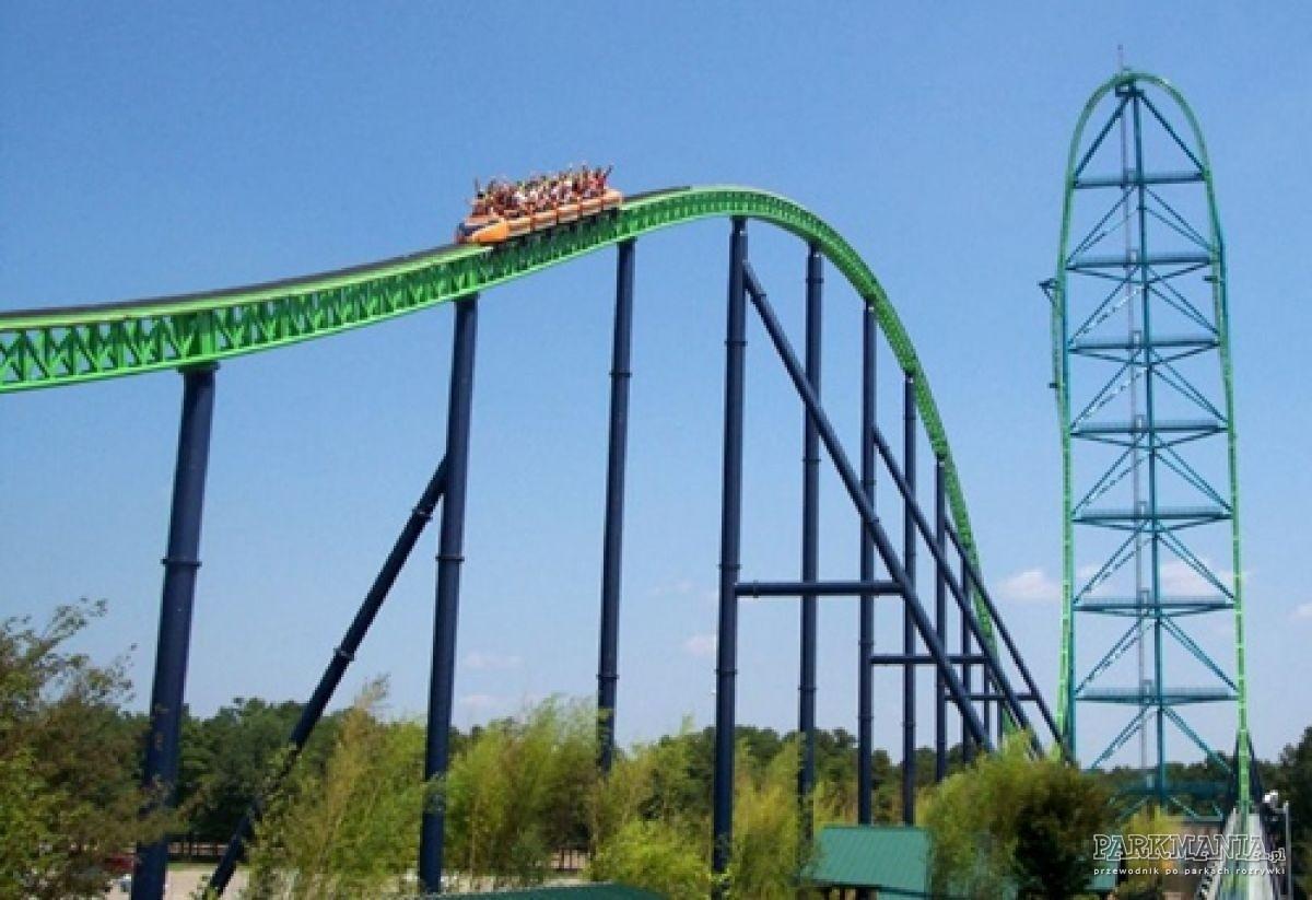 TOP 11: najszybsze roller coastery w Ameryce Północnej