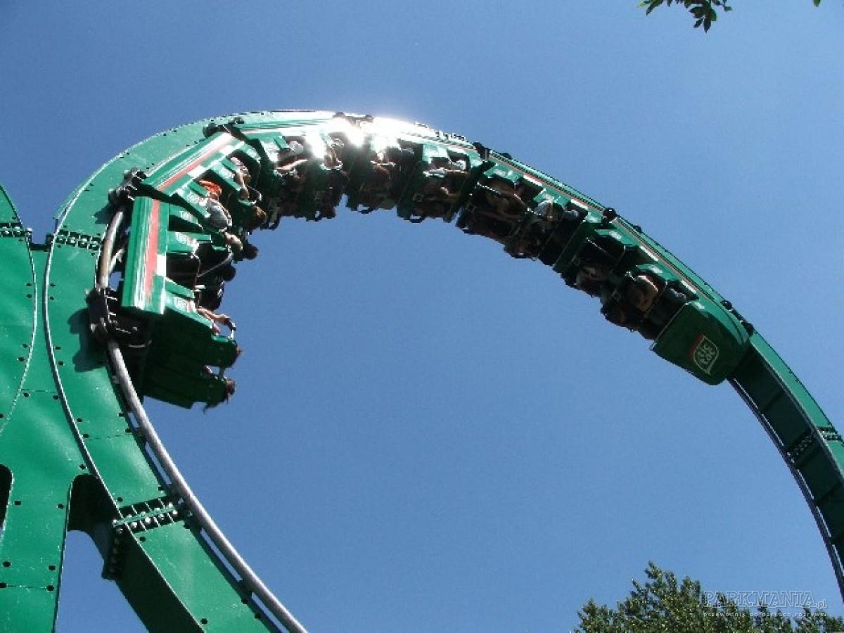 [WIDEO] Roller coaster Tornado, czyli największa kolejka w Polsce