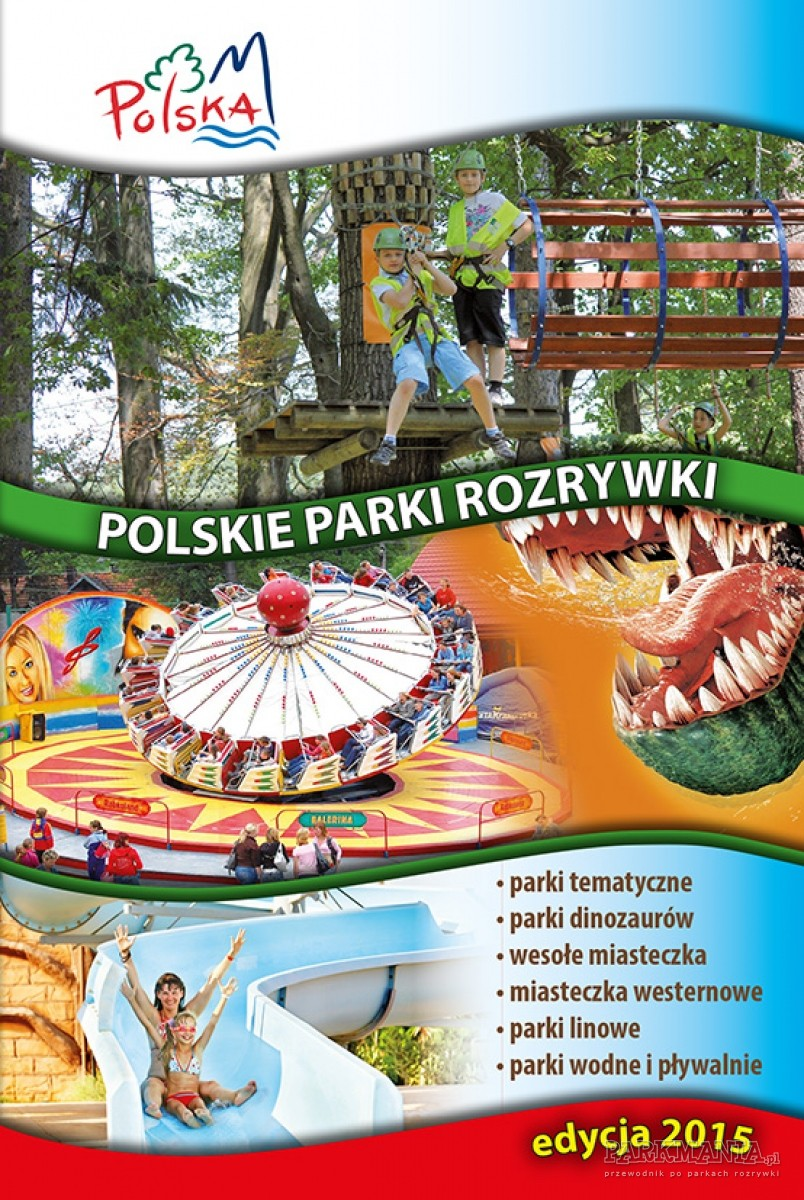 Przewodnik Polskie Parki Rozrywki już poraz trzeci. E-book wkrótce na Parkmania.pl!