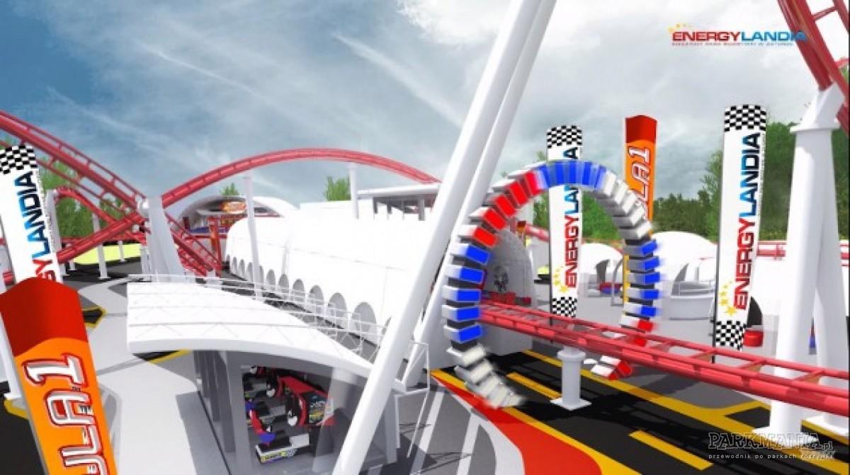 Roller coaster Formuła 1 w Energylandii - tylko dla największych fanów adrenaliny