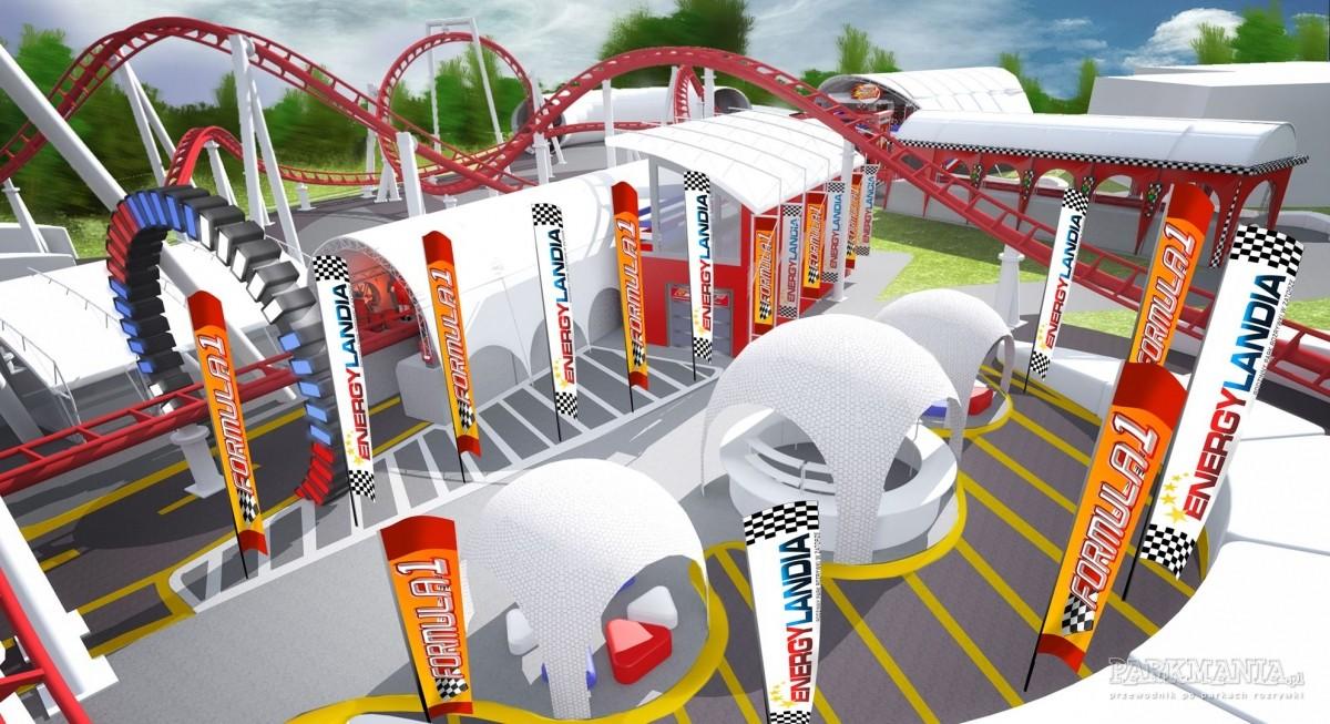 Już w tę sobotę otwarcie roller coastera Formuła 1 w Energylandii!