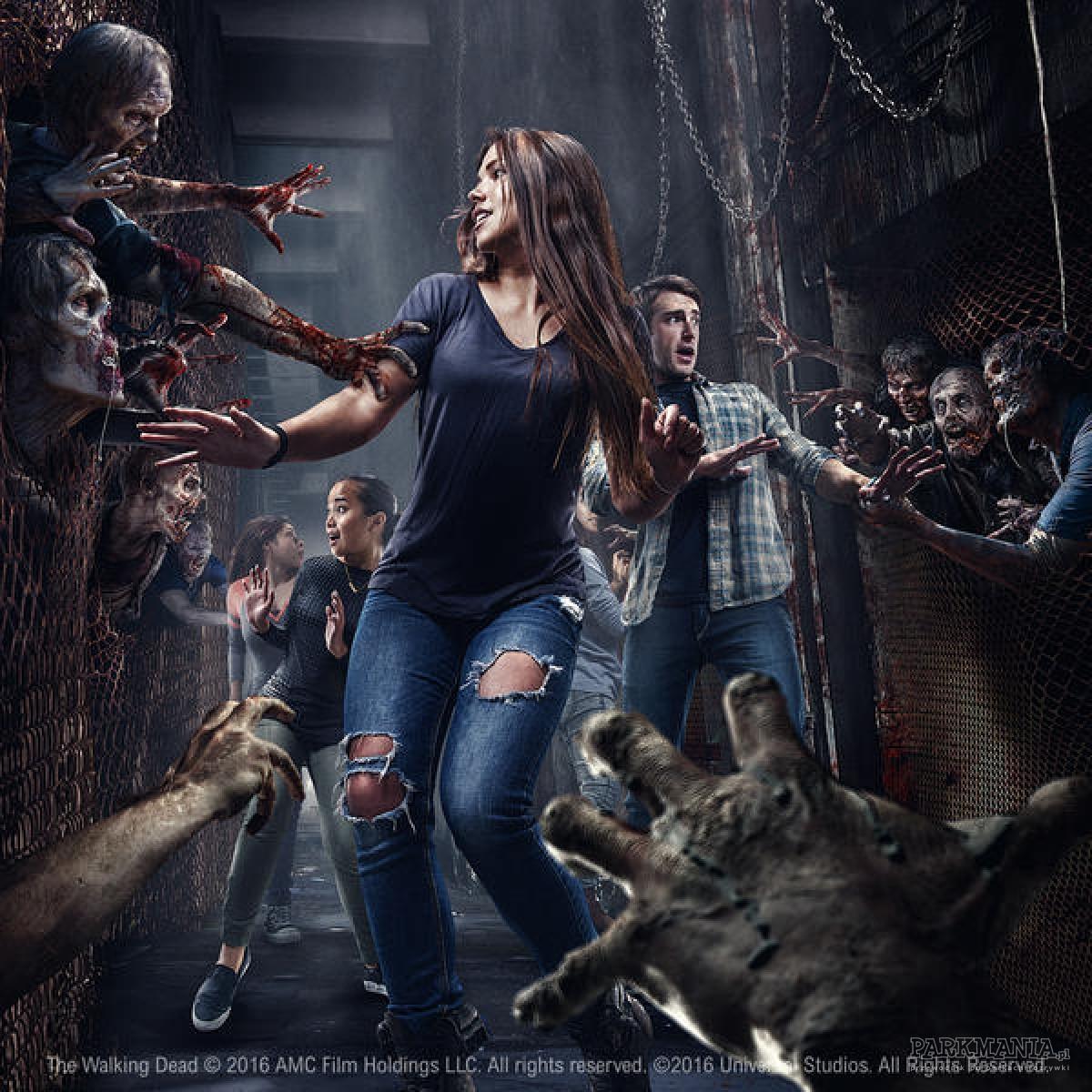 Universal Studios Hollywood otwiera przerażający labirynt 'The Walking Dead'