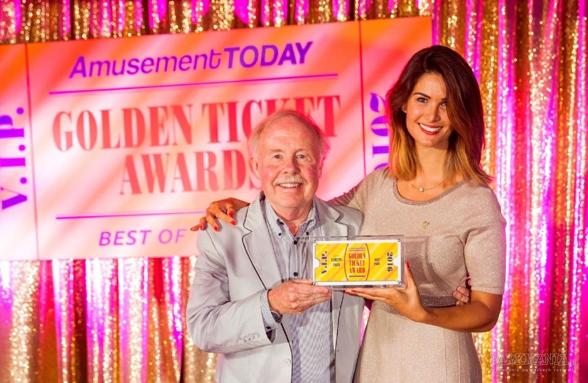 Golden Ticket Awards rozdane. Europa-Park najlepszym parkiem rozrywki na świecie