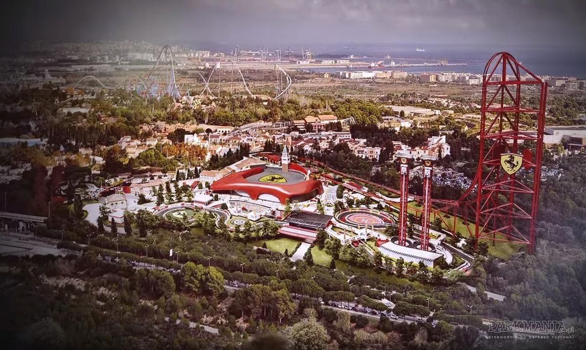 Jak wyglądać będzie Ferrari Land w PortAventura Resort?