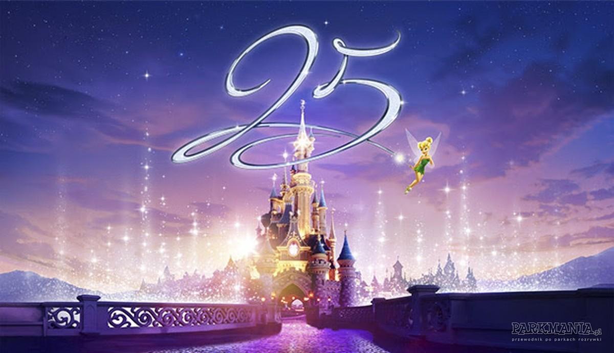 Paryski Disneyland kończy 25 lat! Szykuje się wielka feta