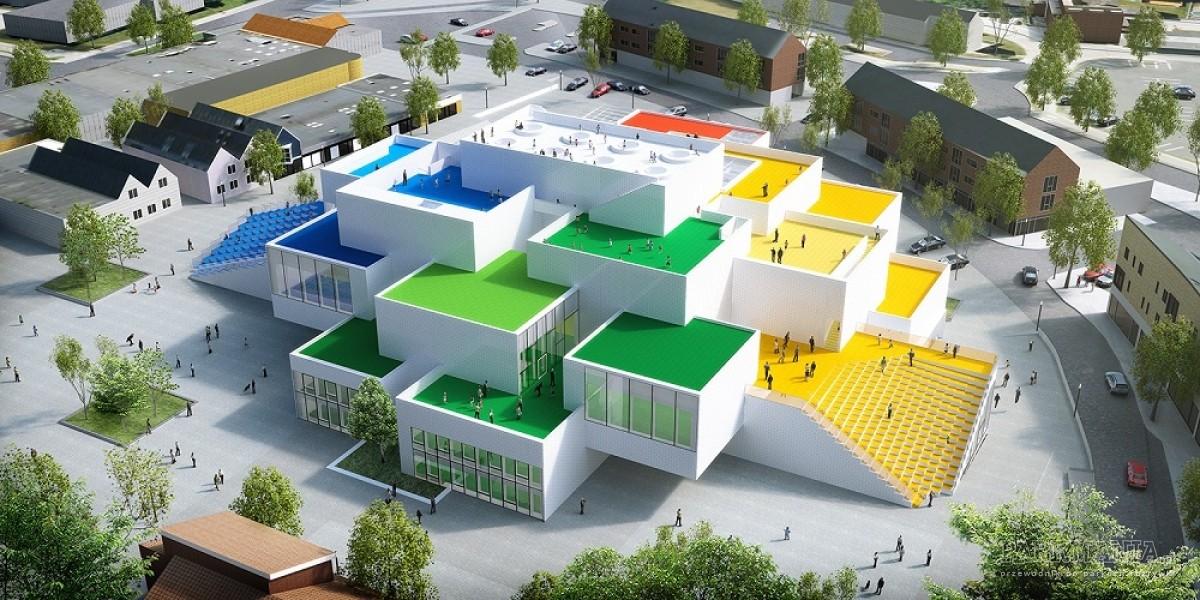 W Billund powstaje dom (jak) z klocków LEGO®