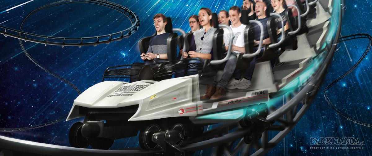 Movie Park - idealny kierunek na wakacje dla wszystkich fanów Star Treka