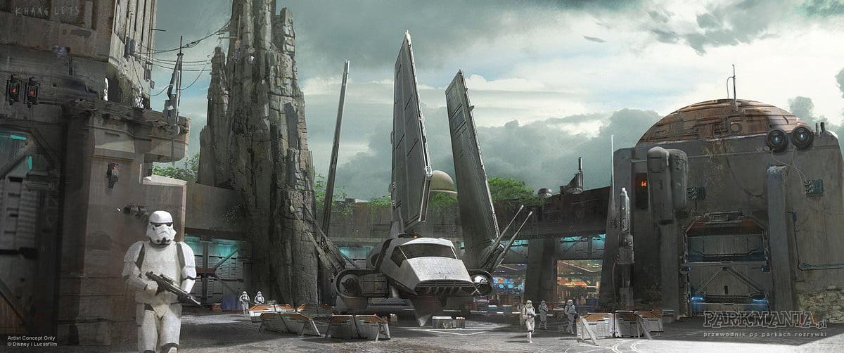 Jak będzie wyglądać Star Wars Land w Disneylandzie?