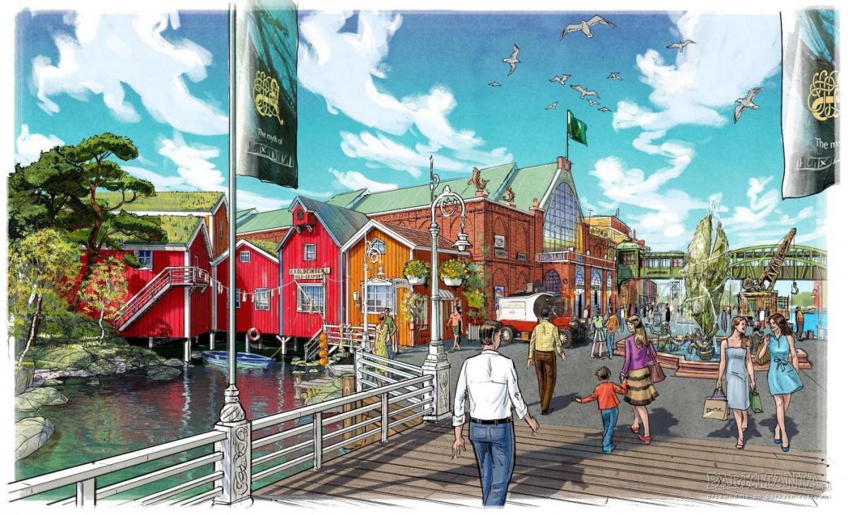 Na terenie Europa-Park Resort trwa budowa niesamowitego aquaparku! Rulantica będzie gotowa już w ...