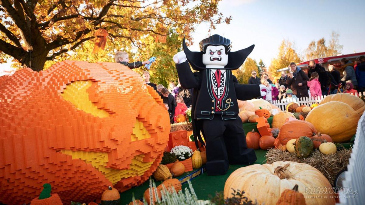 Legoland gotowy na Halloween. Mnóstwo atrakcji dla małych i dużych