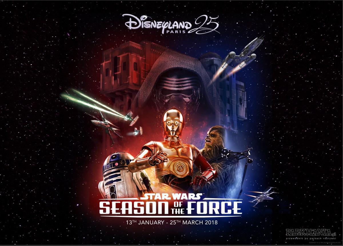"""Pora na kolejny """"Sezon Mocy"""" w Disneylandzie!"""