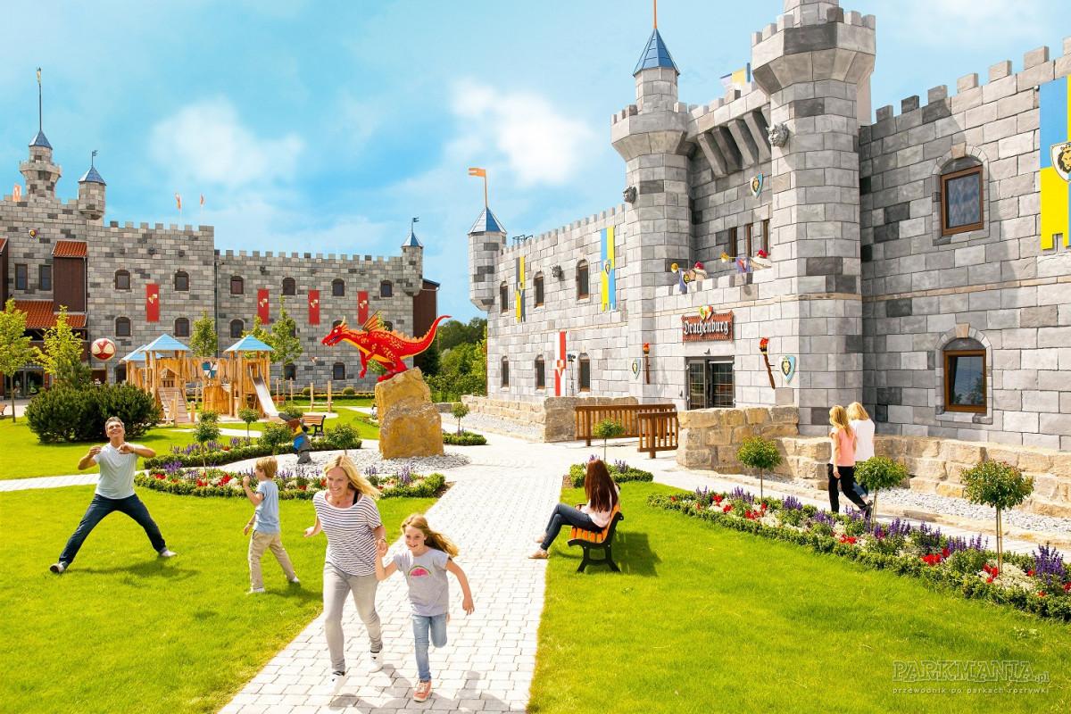 Zamek z LEGO® w duńskim Legolandzie