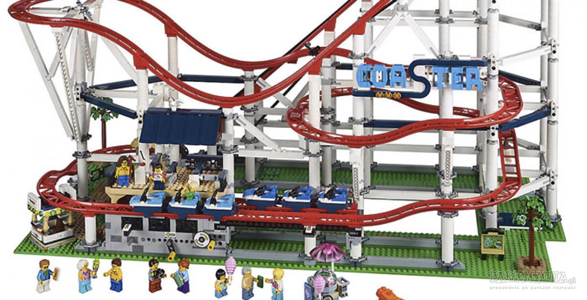 [WIDEO] Nowy zestaw LEGO® – kolejka, która jeździ naprawdę. Zbuduj w swoim domu rollercoaster!