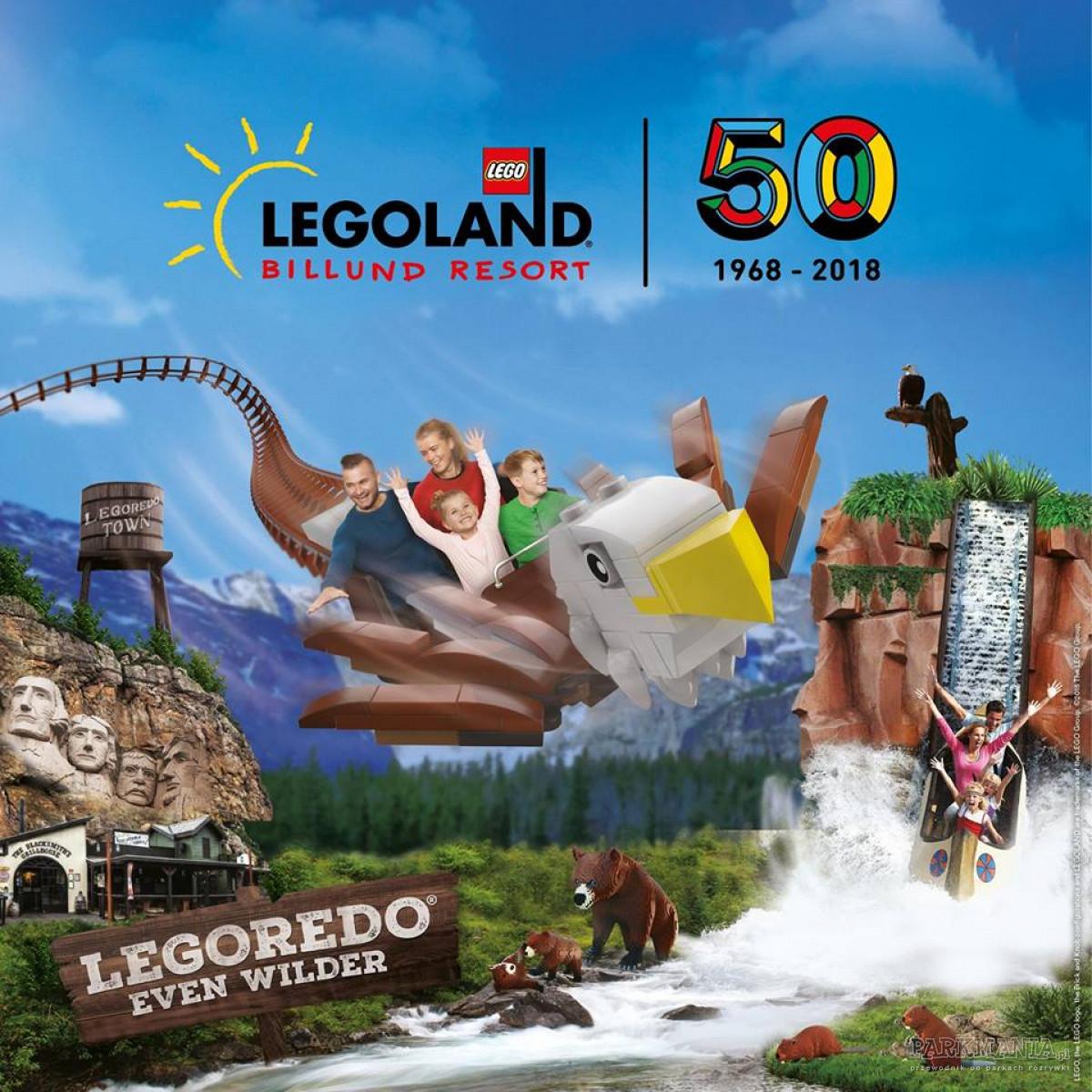[WIDEO] Legoland w Billund świętuje swoje 50. urodziny! Wybieracie się?