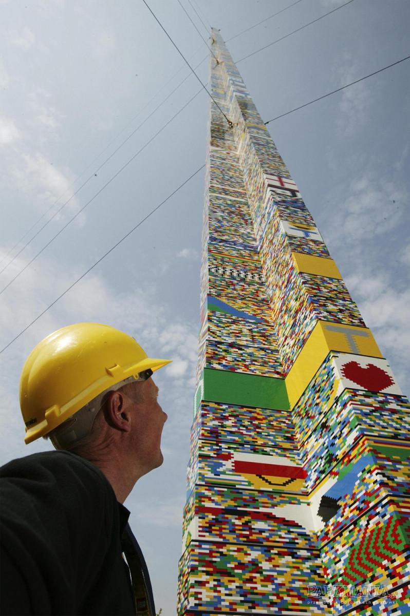 Kto pomoże pobić rekord w budowaniu najwyższej wieży z klocków LEGO®?
