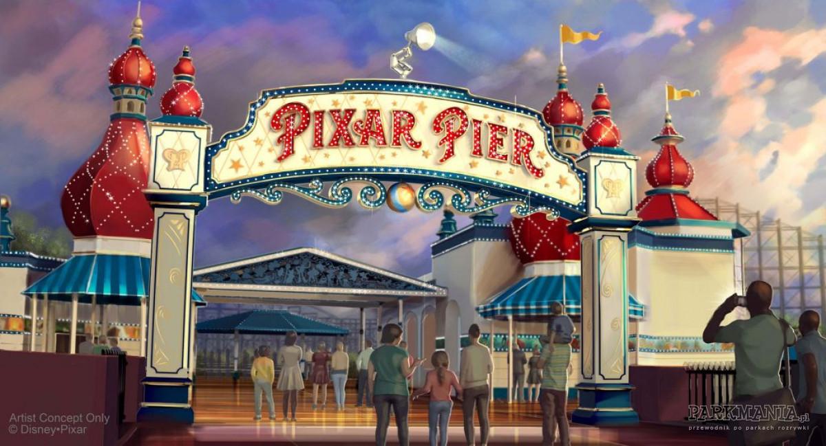 Pixar w amerykańskim Disneylandzie! Co nowego?