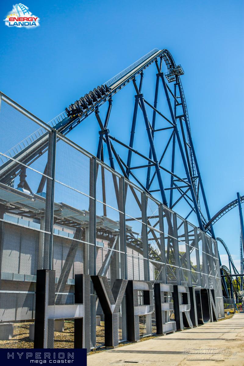 [WIDEO] Hyperion - największy mega coaster w Europie - już otwarty!