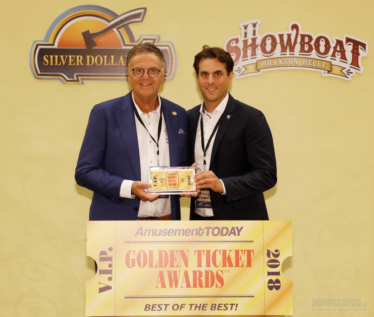 Golden Ticket Awards: Zgadnijcie, który park rozrywki okazał się najlepszy w 2018 roku.