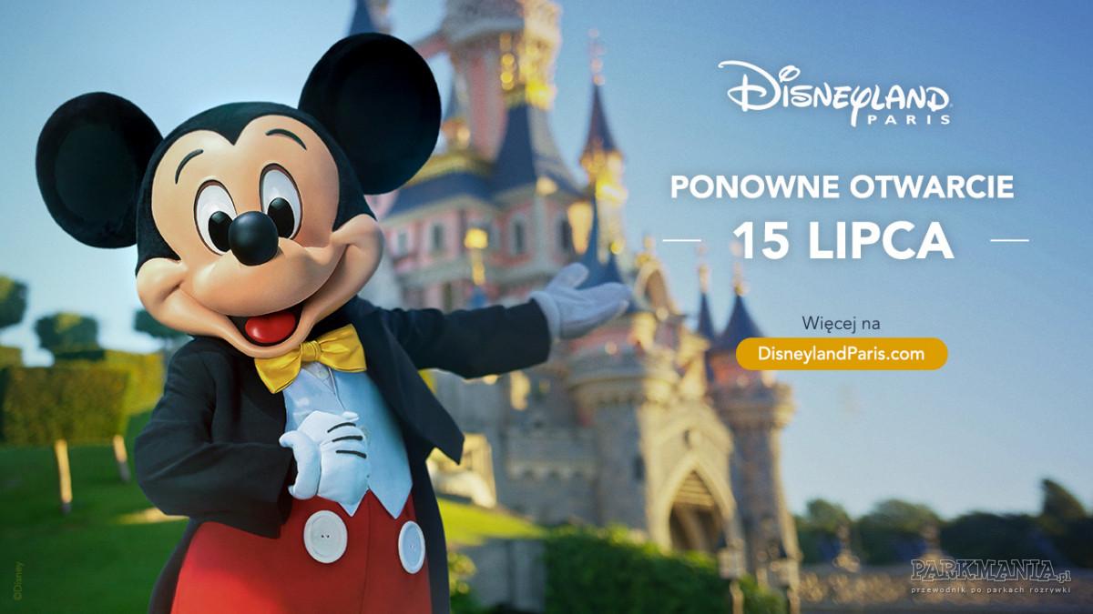 [WIDEO] Disneyland Paris już wkrótce ponownie powita gości. Znamy datę otwarcia!