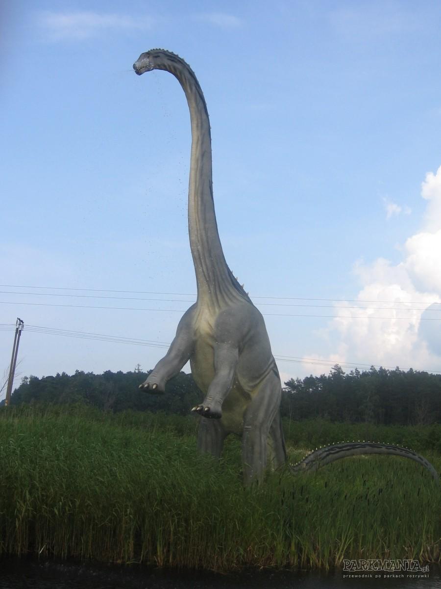 Odwiedziny w Parku Dinozaurów w Łebie