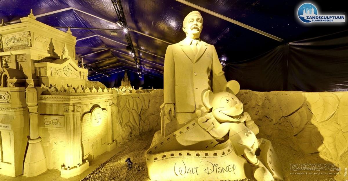 W Belgii można podziwiać Disneyland z piasku