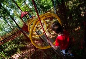 Mini Park Linowy Zoolandia - Opole rabat
