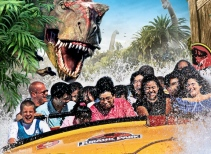 Jurassic Park® — The Ride