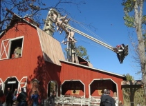 The GIANT Barn Swing
