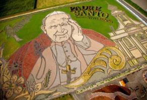 Ogród Jana Pawła II rabat